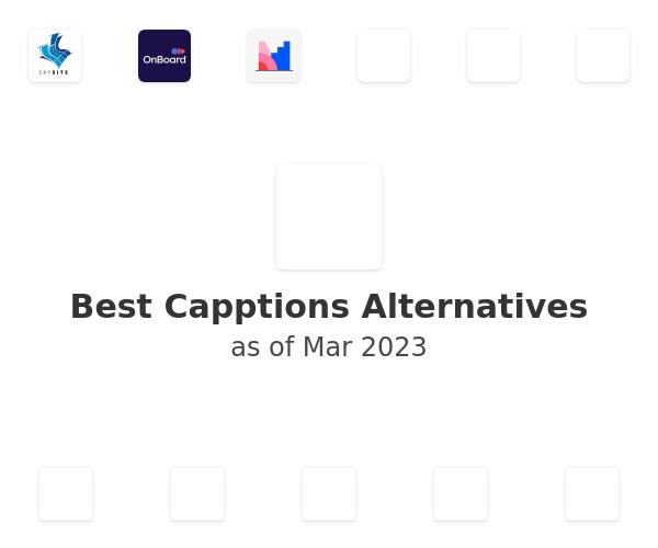 Best Capptions Alternatives