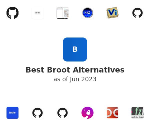 Best Broot Alternatives