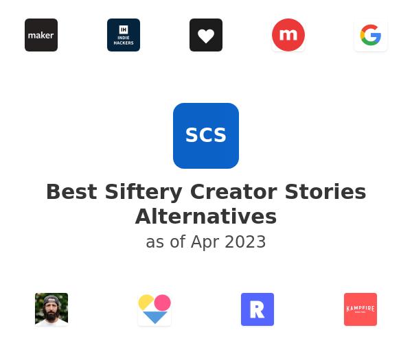 Best Siftery Creator Stories Alternatives