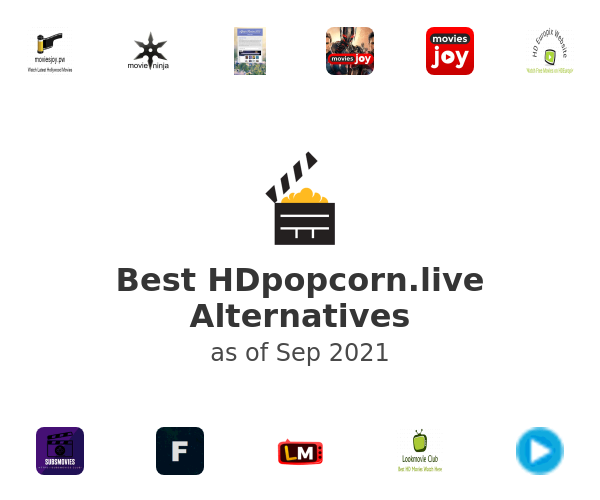 Best Hdpopcorn.live Alternatives