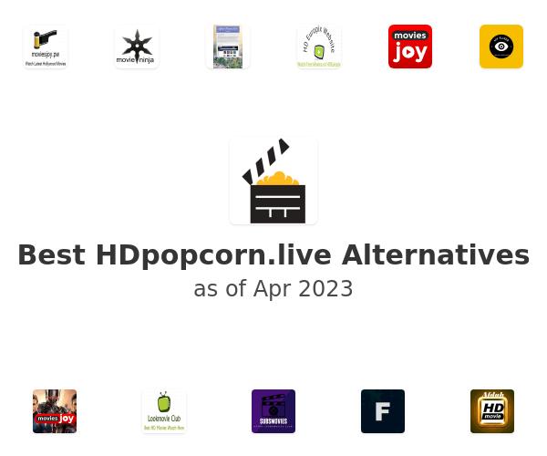 Best HDpopcorn.live Alternatives