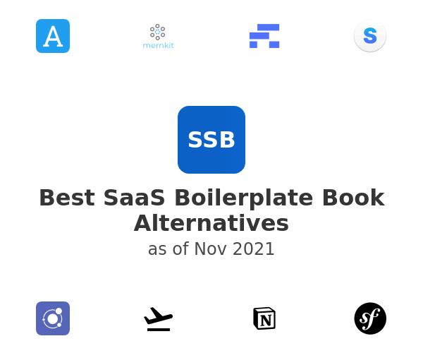 Best SaaS Boilerplate Book Alternatives