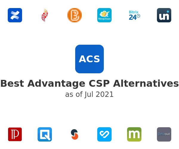 Best Advantage CSP Alternatives
