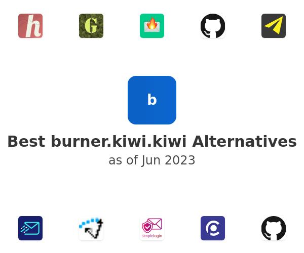 Best burner.kiwi Alternatives