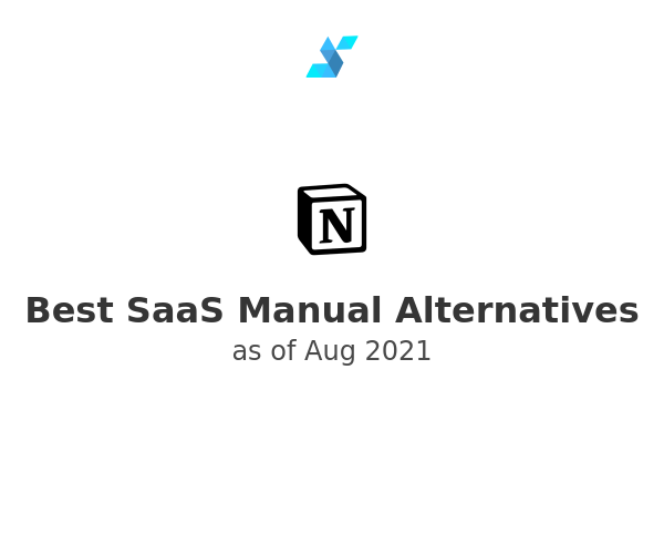 Best SaaS Manual Alternatives