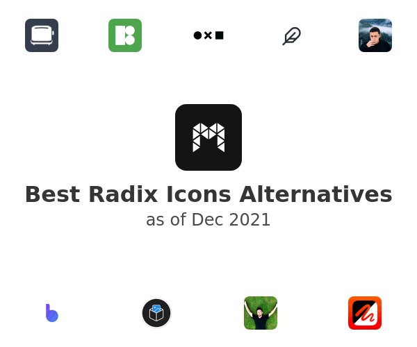 Best Radix Icons Alternatives