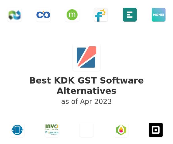 Best KDK GST Software Alternatives