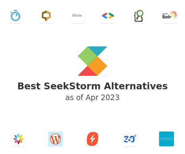 Best SeekStorm Alternatives