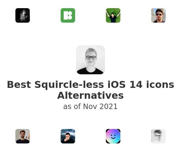 Best Squircle-less iOS 14 icons Alternatives