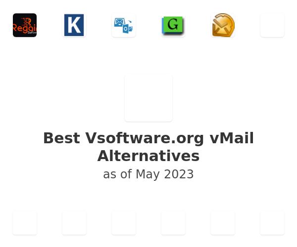 Best Vsoftware.org vMail Alternatives