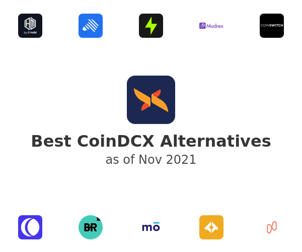 Best CoinDCX Alternatives