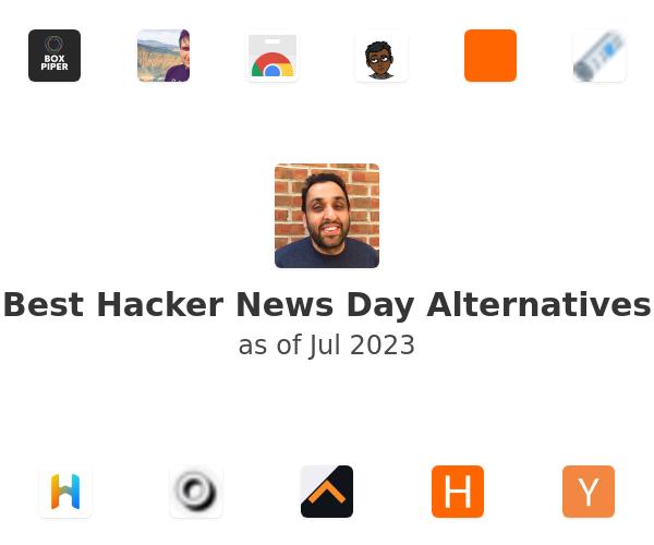 Best Hacker News Day Alternatives