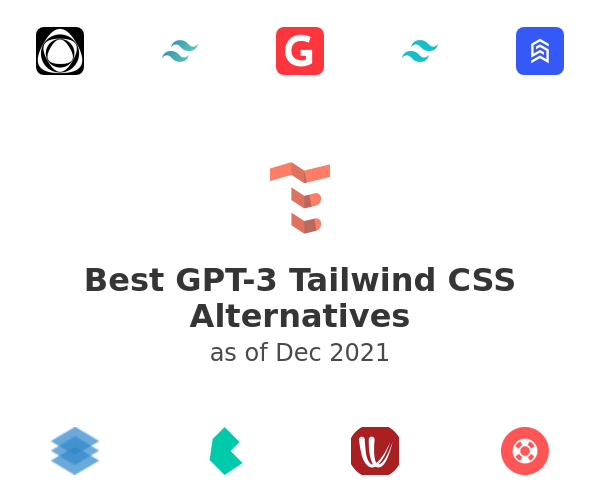 Best GPT-3 Tailwind CSS Alternatives