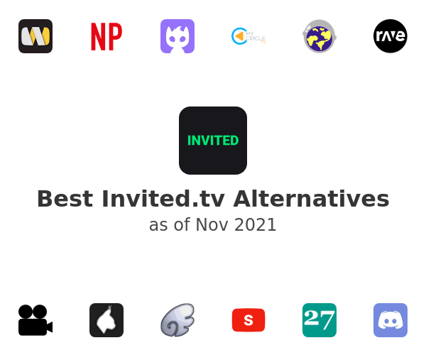 Best Invited.tv Alternatives