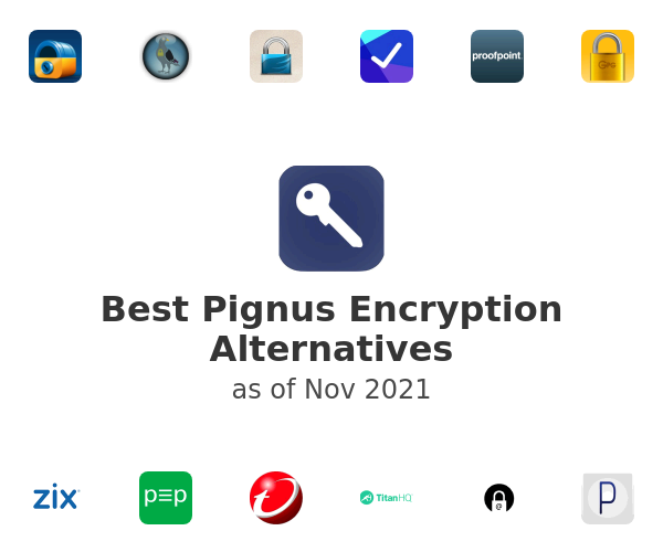 Best Pignus Encryption Alternatives