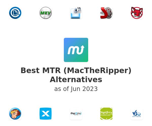 Best MTR (MacTheRipper) Alternatives