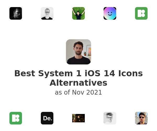 Best System 1 iOS 14 Icons Alternatives