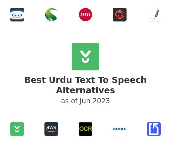 Best Urdu Text To Speech Alternatives