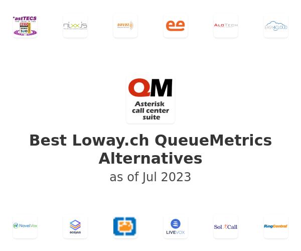 Best Loway.ch QueueMetrics Alternatives