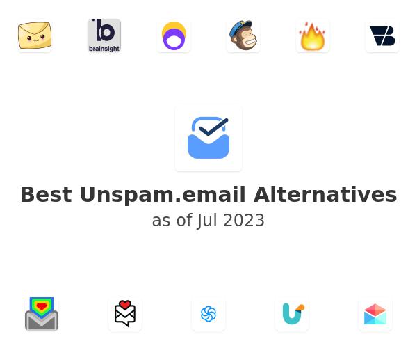 Best Unspam.email Alternatives