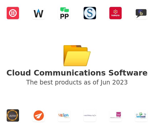 Cloud Communications Software
