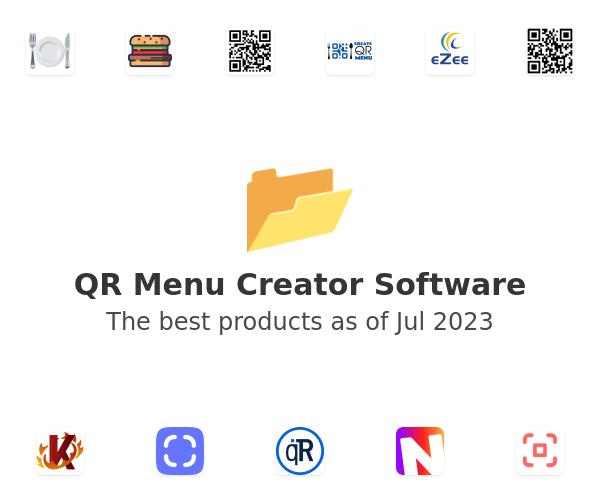 QR Menu Creator Software