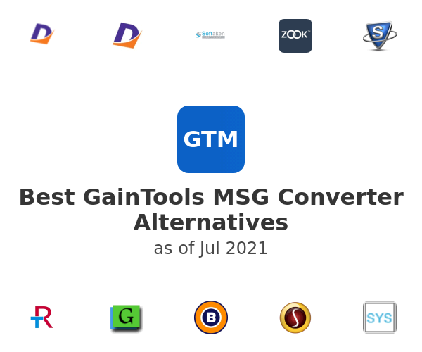 Best GainTools MSG Converter Alternatives