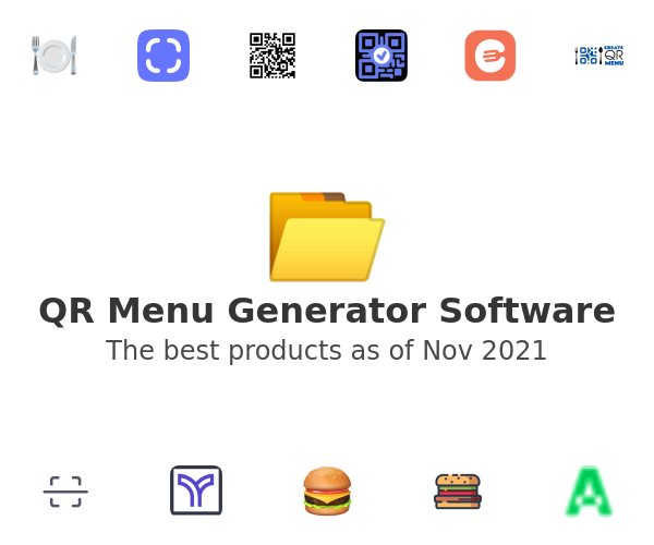 QR Menu Generator Software