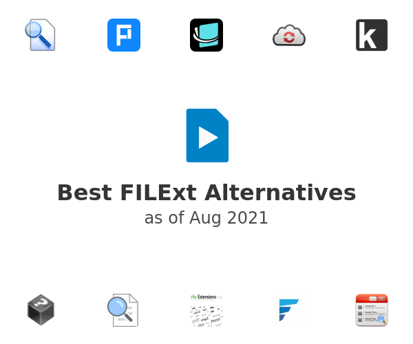 Best FILExt Alternatives