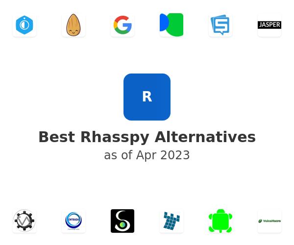 Best Rhasspy Alternatives