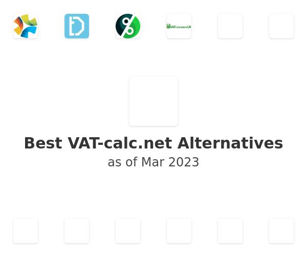 Best VAT-calc.net Alternatives