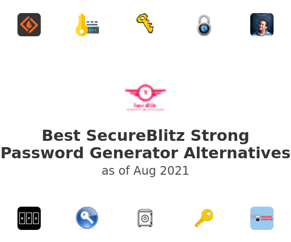 Best SecureBlitz Strong Password Generator Alternatives