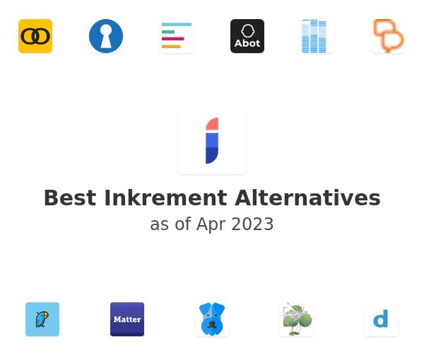 Best Inkrement Alternatives