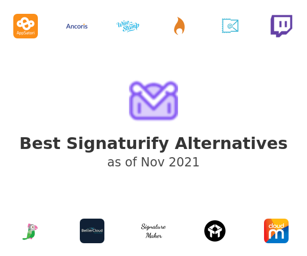 Best Signaturify Alternatives