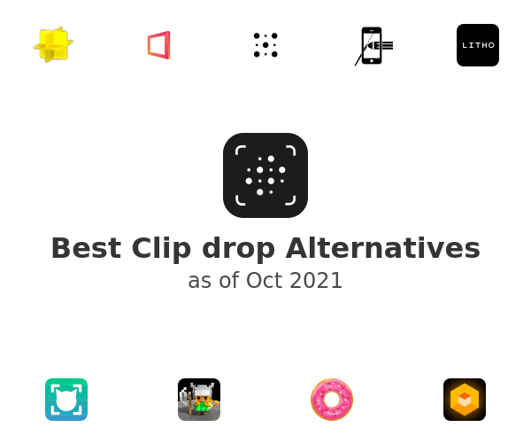 Best Clip drop Alternatives