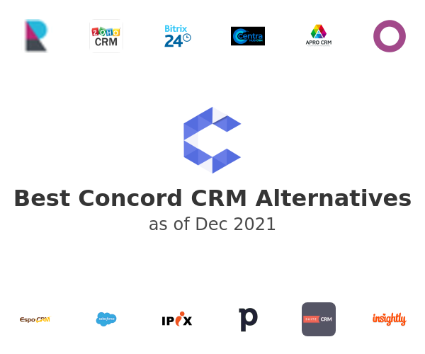 Best Concord CRM Alternatives