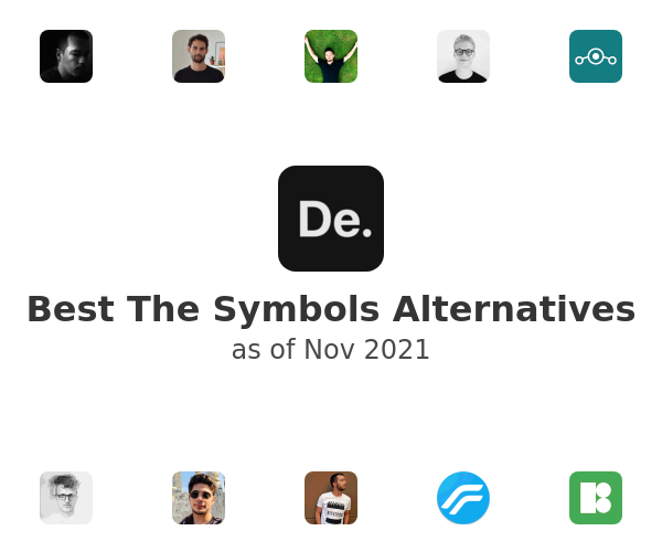 Best The Symbols Alternatives