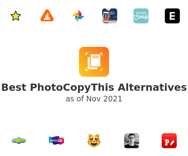 Best PhotoCopyThis Alternatives