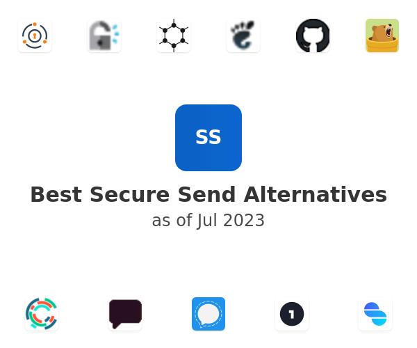Best Secure Send Alternatives