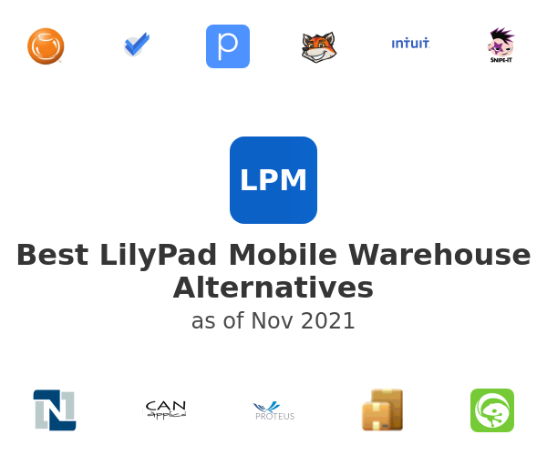 Best LilyPad Mobile Warehouse Alternatives