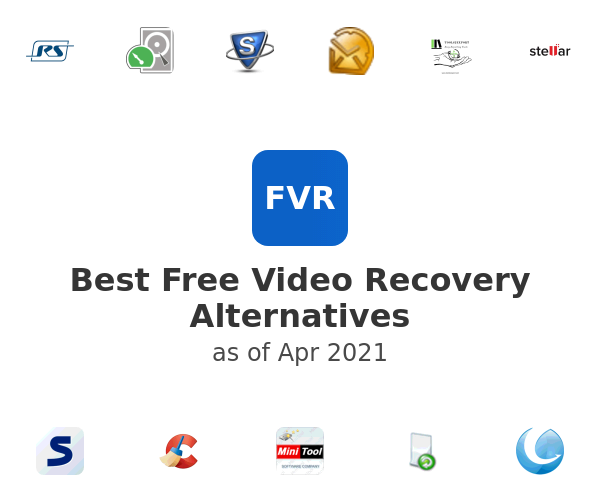 Best Free Video Recovery Alternatives
