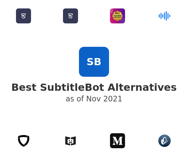 Best SubtitleBot Alternatives
