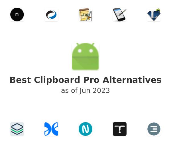 Best Clipboard Pro Alternatives