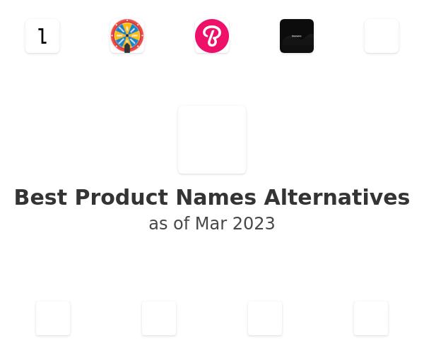 Best Product Names Alternatives