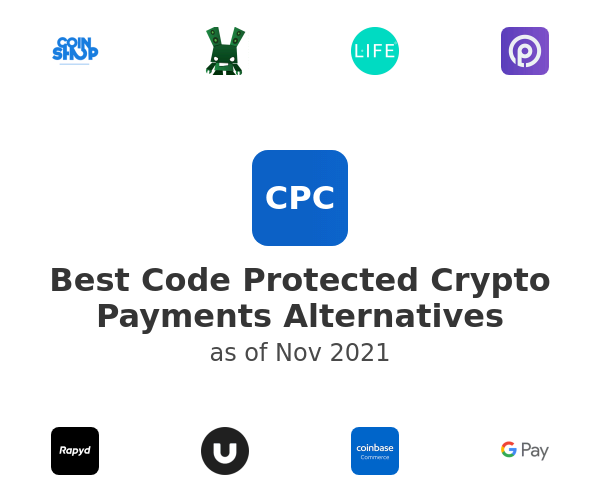 Best Code Protected Crypto Payments Alternatives