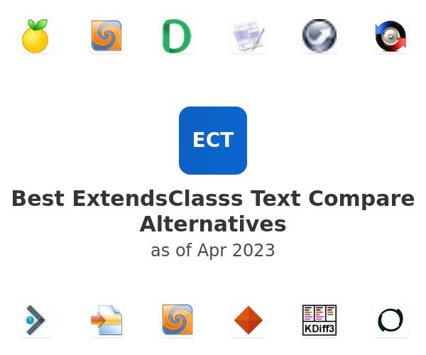 Best ExtendsClasss Text Compare Alternatives