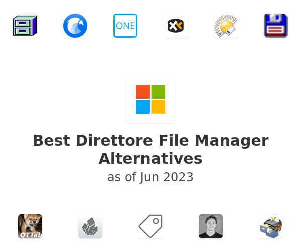 Best Direttore File Manager Alternatives