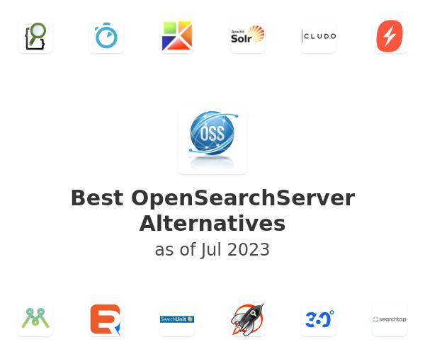 Best OpenSearchServer Alternatives