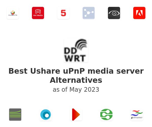 Best Ushare uPnP media server Alternatives