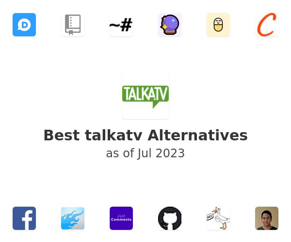 Best talkatv Alternatives
